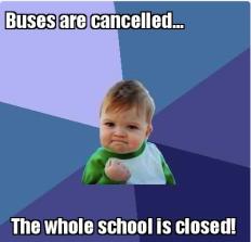 Meme - school closed