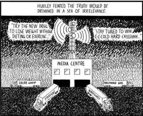 Orwell v. Huxley | Apathy and Urgency